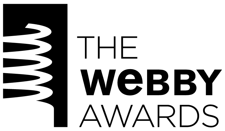Best Use of Filters ainsi que le logo de The Webby Awards