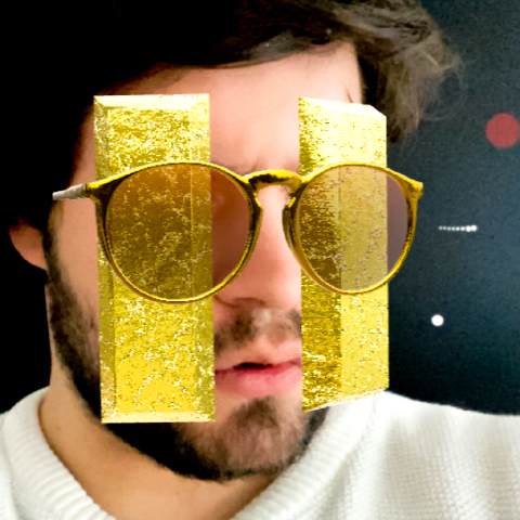 Icon of the effect Gold Vision made in Augmented Reality